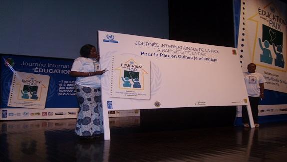 Evénement : La Guinée célèbre la 32ème journée internationale de la paix !