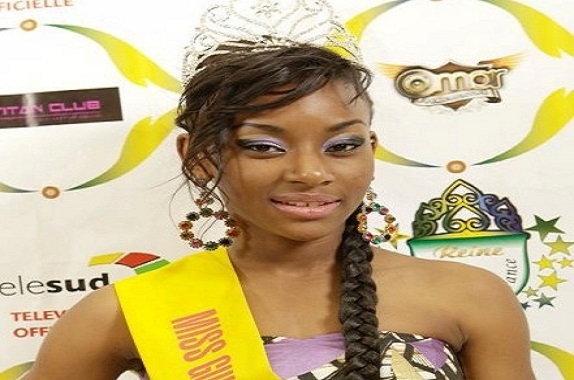 Tiguidanké Touré Miss Guinée France 2012 s'engage pour la lutte contre l'insalubrité à Conakry