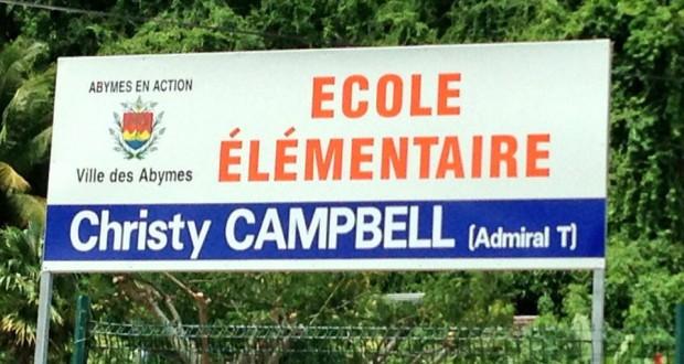 Une école de Guadeloupe porte désormais le nom d'Admiral T