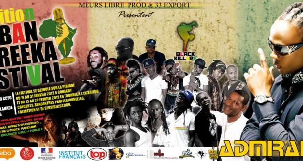 URBAN AFREEKA la 2e edition du festival des musiques urbaines de Guinee