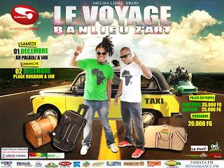 Les BANLIEUZ'ART reviennent avec leur 2eme album intitulé '' kounfayakoun le voyage''.