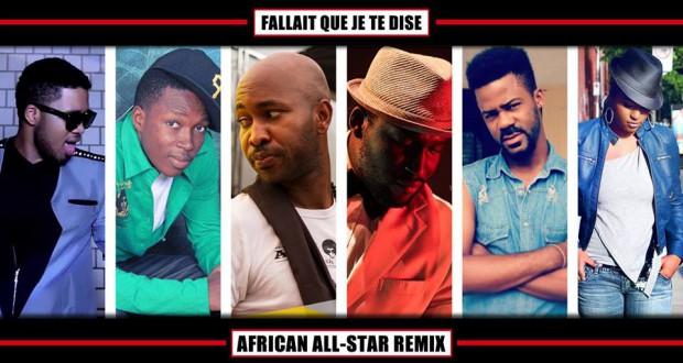 Jupiter Davibe fait appel à Soul Bang's ainsi que des artistes de la sous région dans le titre ''il fallait que je te dise'' version remix
