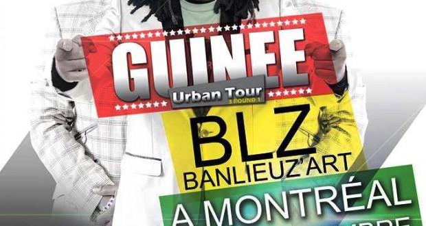 Guinée Urban Tour 3 : Meurs Libre Prod Inc présente Banlieuz'art le 21 septembre à Montréal