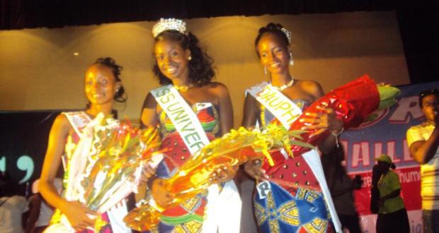 Sanassa Kouyaté de 'université Nongo Conakry et Moussa Daraba de Kofi Annan elus Miss et Master University 2012.