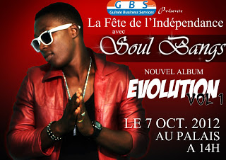 Soul Bang's : c'est officiel son album s'intitulera ''Evolution''