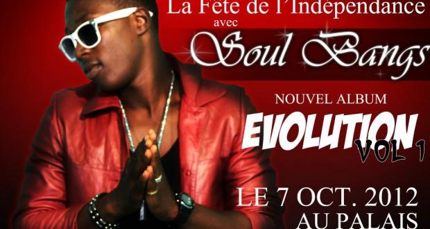 """la sortie de l'album """"evolution de soul Bang's prevue le 7 octobre au palais du peuple"""