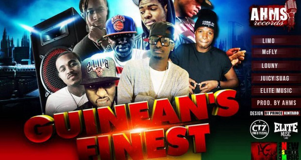Brand New : Guinean's Finest avec Limo, McFly, Louny, Elite Music et Juicy Suag