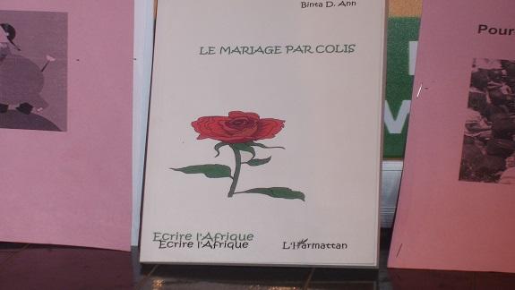 Littérature : ''Le mariage par colis'' de Binta Ann paraît chez L'Harmattan Guinée