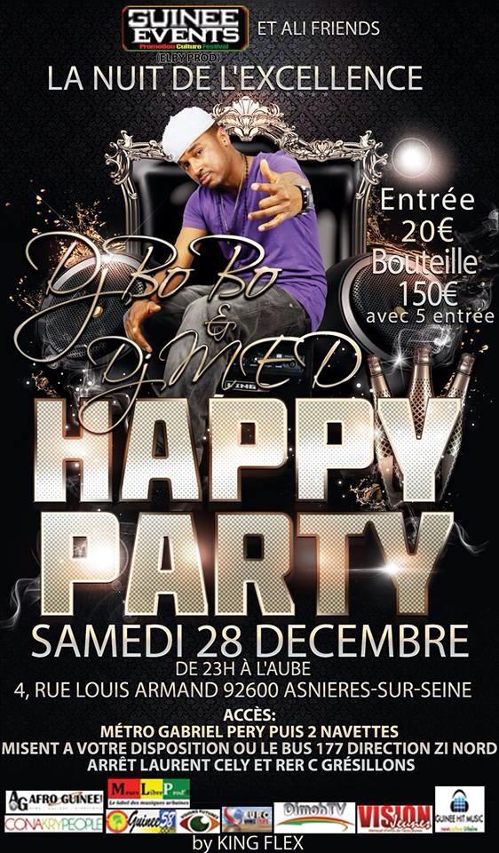 Grande Soirée  à Paris:GUINEE EVENTS & ALI  FRIENDS vous présente La Nuit de l'Excellence
