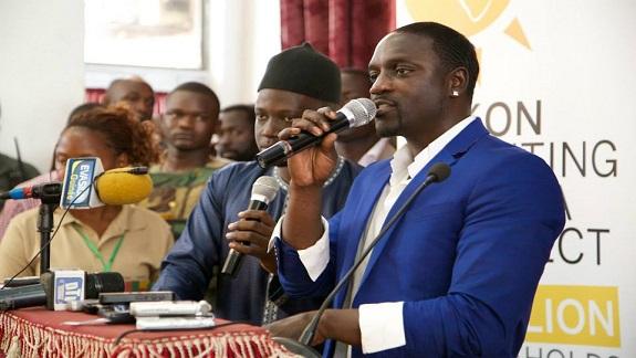 Akon: «L'unité Africaine est le départ de tout développement »