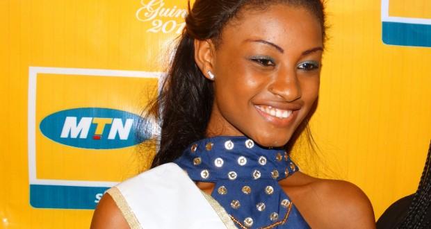 Miss Guinée 2015 : Mama Aissata Diallo remporte l'étape de Conakry