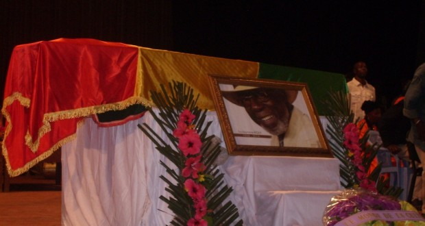 Obsèques : La Guinée rend un dernier hommage à Souleymane Koly