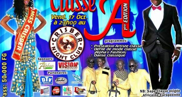 Classe A : Le Crisber accueille la première édition de la soirée de la sape dans l'élégance