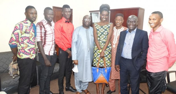 Black Model Awards 2014 : La délégation guinéenne reçoit les bénédictions du ministère de la culture