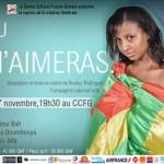 Théâtre: Tu m'aimeras de Thiâ'nguel, avec Petit Tonton, Habibatou Bah et Djanii Alfa au CCFG
