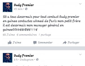 Capture publication Oudy