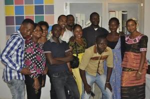Equipe d'organisation festival Univers des Mots