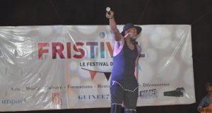Fristival: l'artiste Koundouwaka a présenté sur scène son prochain single