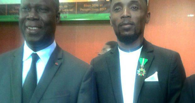 Culture: Serge Beynaud élevé au rang de Chevalier de l'Ordre du Mérite Culturel