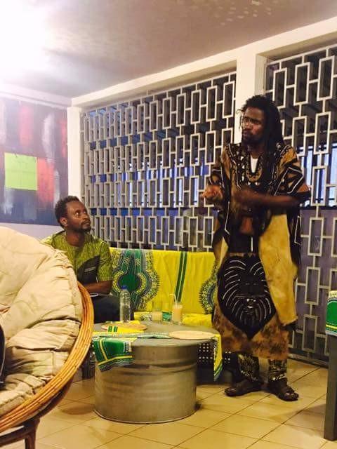 Café des auteurs: Le panafricain Mikhindé fait parler son texte