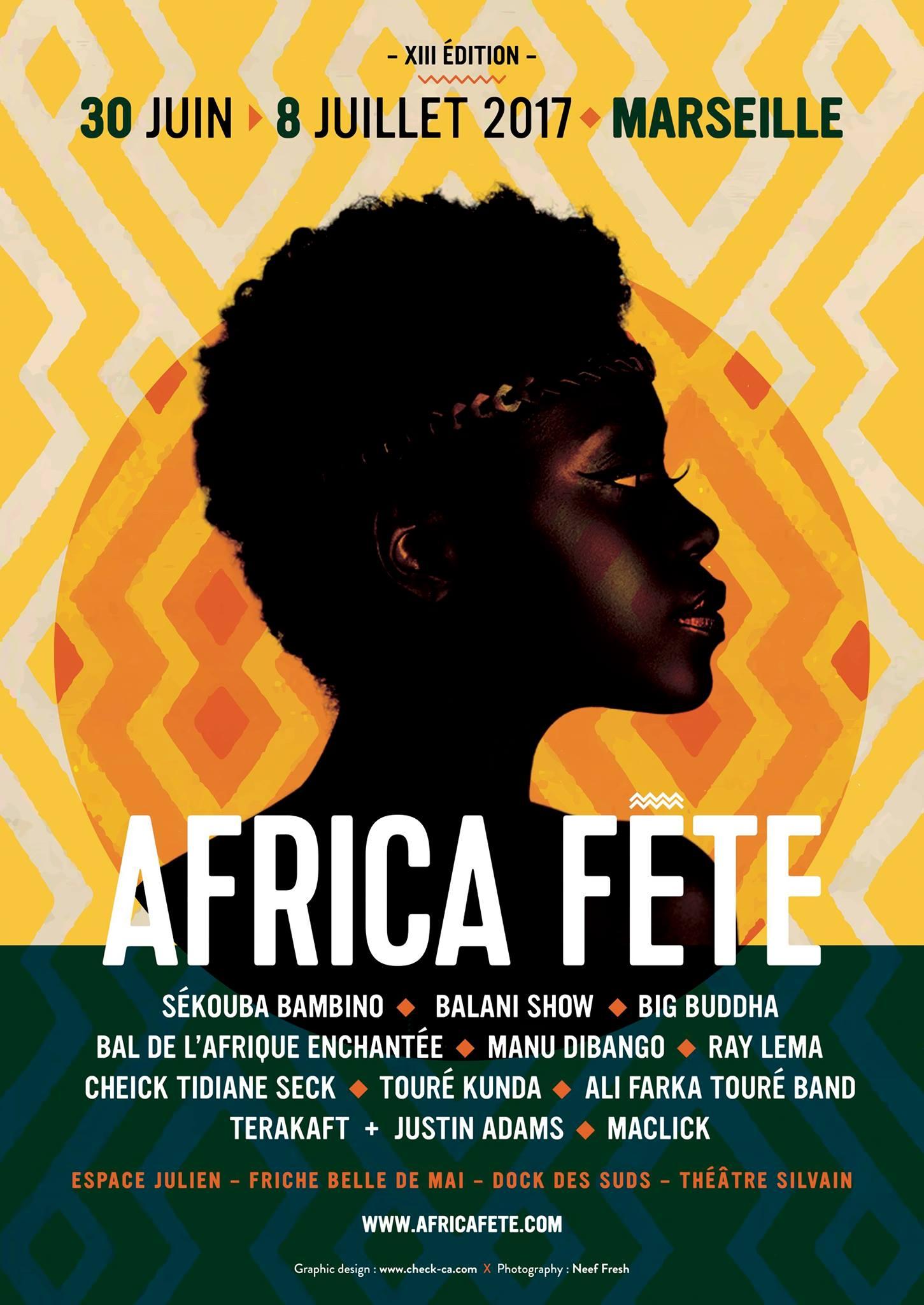FESTIVAL AFRICA FETE 2017 : Marseille rendra hommage à Mamadou Konté