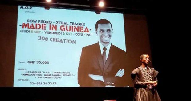 Théâtre: «C'est la seule création qu'on a travaillé typiquement à la guinéenne.» dixit Sow Pedro