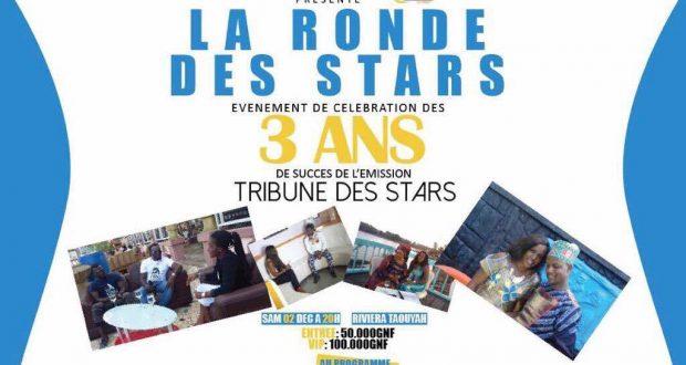 Médias : L'émission Tribune des Stars fête ses 3 ans d'existence