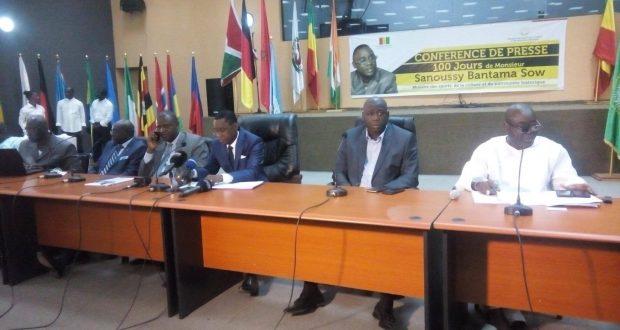 Sanoussi Bantama Sow bénéficie du prix des cinq ministres les plus performants…