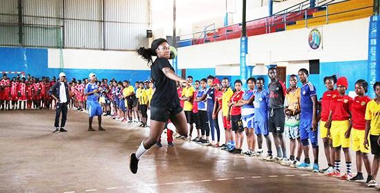 Femmes d'ici et d'ailleurs : Mariame Bangoura, handballeuse guinéenne en France