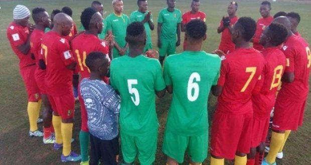 Match Amical: Le Syli local fait match nul avec le Cameroun