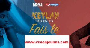 Remix : Keyla K sur les pas de Lefa dans le titre ''Fais-le''