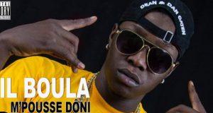 """Musique : Le rappeur Lil Boula surprend son public avec """"M'Poussé Doni"""""""
