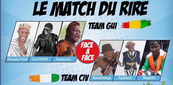 Match du rire : La Guinée reçoit les humoristes de la Cote d'Ivoire