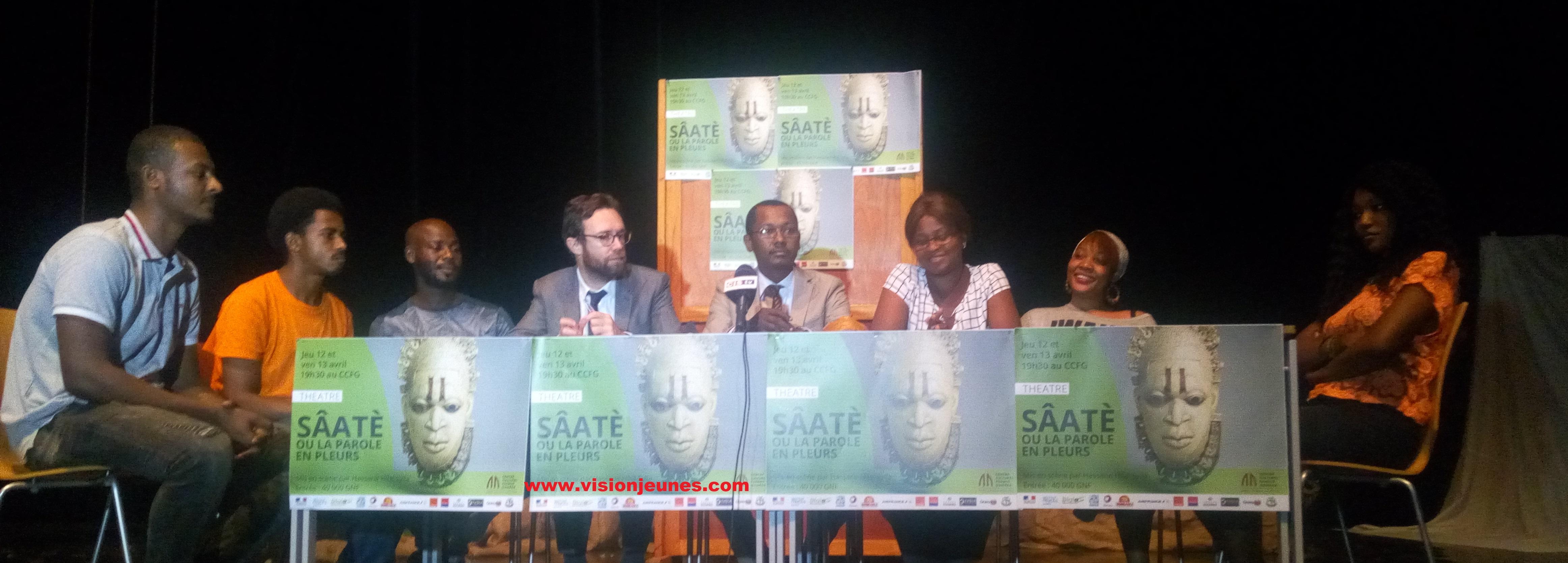 CCFG : Hassan Hilal s'essaie à la mise en scène avec « Sâatè »