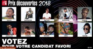 Prix decouvertes RFI 2018 : Comment voter ?