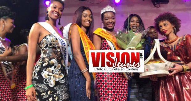 Miss Guinée France 2019 : Madina Traoré à la première marche du podium