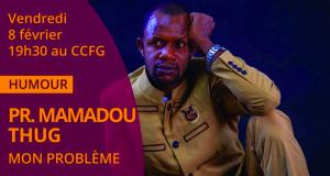 Humour : Mamadou Thug dans la peau d'un professeur
