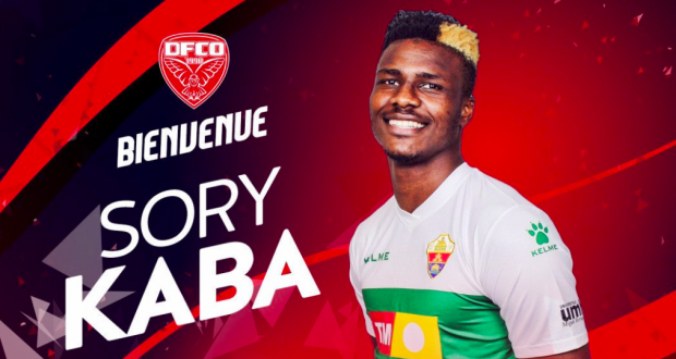 Football : Sory Kaba signe un contrat de 4 saisons et demi avec Dijon FCO